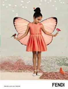 Fendi Kids, adv campaign S/S 2014. www.fendi.com/it/it/collezioni/bambino