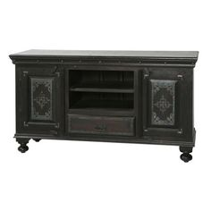 Look what I found on Wayfair! 55 Tv Stand, Cool Tv Stands, High Quality Furniture, New Furniture, Plasma Tv Stands, Tv Stand Wayfair, Entertainment Centers, Iron Work, Television Stands