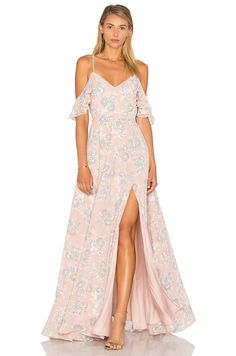 Lovers + Friends x REVOLVE Taylor Gown in Floral