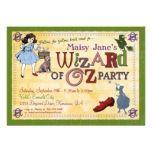 Wizard Of Oz Birthday Cards