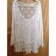 Cozy Casual knit top Only worn a few times and in great condition! Tops Tees - Short Sleeve