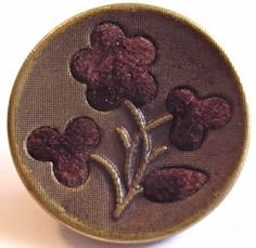 """the story goes that during the civil war the ladies would take a perfumed button off their dress and give it to their loved one, sending him into war with a romantic memento. many stories are told of soldiers who died with a button in his pocket or stories that recount how this memento kept them alive during those stressful times.  perfume buttons were also used earlier in history in france and england.""""  ~ from aunt judy's attic"""