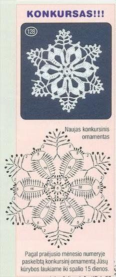 Crochet Patterns Christmas Christmas decorations on Stylowi. Crochet Snowflake Pattern, Crochet Stars, Crochet Snowflakes, Thread Crochet, Crochet Flowers, Crochet Stitches, Crochet Diagram, Crochet Motif, Knit Crochet