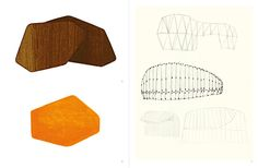 'objets dessins maquettes (objects drawings models)' by ronan & erwan bouroullec