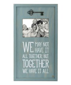 Another great find on #zulily! 'Together' Framed Wall Art #zulilyfinds