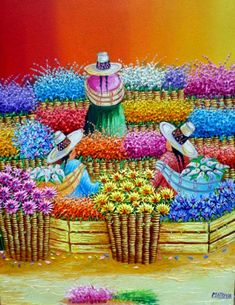 Peruvian Art, Guatemala, Latino Art, Mexican Art, Mexican American, Southwest Art, Art Pages, Naive Art, Japanese Artists