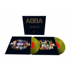 25th Anniversary Gold Colored VinylGold: Greatest Hits is a compilation album of recordings by Swedish pop group ABBA. It was released on 21 September 1992 through PolyGram, the first compilation to be released after the company had acquired Polar Music and thus the rights to the ABBA back catalogue. With sales in excess of 28 million copies, it is the best-selling ABBA album as well as one of the best-selling albums worldwide.
