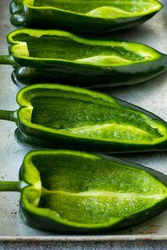 Poblano Recipes, Chili Recipes, Meat Recipes, Mexican Food Recipes, Cooking Recipes, Healthy Recipes, Pepper Recipes, Mexican Cooking, Oven Recipes