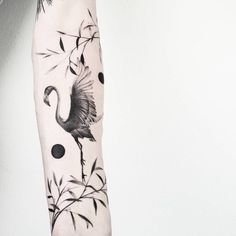 Flamingo made by at - Womanly Life Flamingo Tattoo, Flamingo Flower, Whale Tattoos, Love Tattoos, Bird Tattoos, Tattoo Needles, First Tattoo, Tatting, Body Art