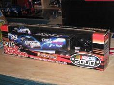 Jeff Burton 1/64 Diecast Transporter/car 2000 preview Nascar #99 EXIDE #RacingChampions #Ford