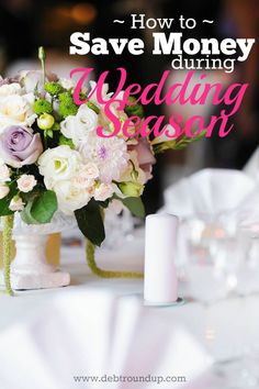 Wedding season is coming soon and if you're going to be attending or in any weddings, then you know how expensive it can be. Here are some great tips on how to save money and not go broke preparing for wedding season!