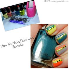 Mod Dots with Barielle LTHP %photo