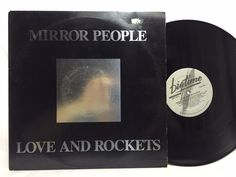 Love & Rockets Mirror People Vinyl LP Record Original