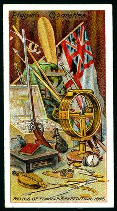Cigarette Card - Relics of Franklin's Expedition, 1845 | Flickr - Photo Sharing!