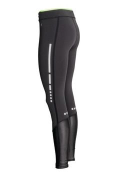 Compression fit running tights: Running tights in fast-drying functional fabric with an extra-firm, tight fit focusing especially on the calves. The tights create pressure over the leg that is highest at the hems and gradually reduces towards the top to aid circulation. The special design and high elastane content help the tights to retain their effect and properties over a long period. Eastication and a concealed drawstring at the waist, concealed mesh key pocket in the waistband, taped…