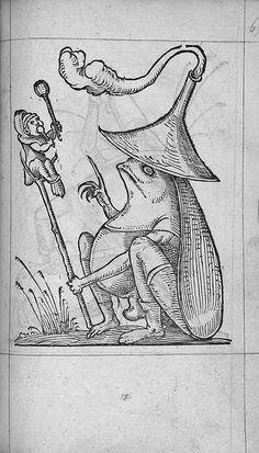 François Desprez,  f. E5 Dessin 67  Les Songes drolatiques de Pantagruel  A Paris : Par Richard Breton 1565 (9)