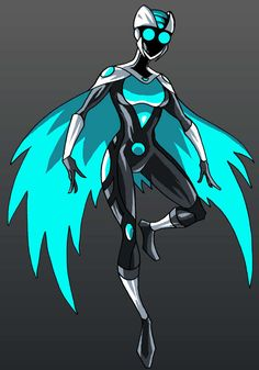A re-envisioning of Silver Owl from Sentinels.