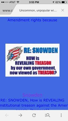 Snowden knew...