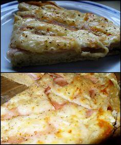 Réka alakbarát receptjei - szénhidrátcsökkentett, bűntelen finomságok: Pizza fokhagymás-joghurtos alappal
