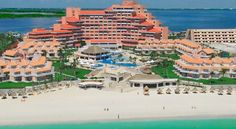 This is our hotel!! Omni Hotel - Cancun, Mexico!!  Beautiful place and tons of fun!!!