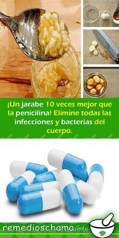 ¡Un jarabe 10 veces mejor que la penicilina! Elimine todas las infecciones y bacterias del cuerpo. #jarabe #penicilina #infecciones #bacterias Natural Remedies, Beauty Hacks, Medicine, Health Fitness, Breakfast, Healthy, Nature, Food, Tortillas