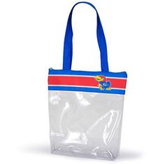 Kansas Jayhawks Clear Gameday Stadium Tote Bag Sports Tea…