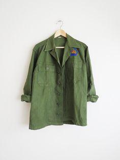 1960's Military Shirt