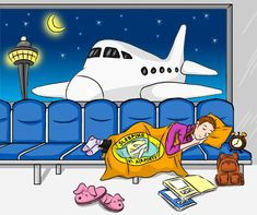 The Guide to Sleeping in Airports.  Info for places to sleep for free in airports world wide.  Test-proven by other budget adventurers.