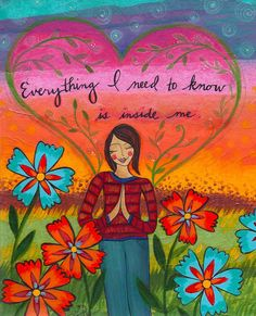 Yes. Yes. Yes. :: print by artist Lori Portka
