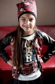 Jasmin Petrugan per Rubacuori Abbigliamento Bambina Campagna Promozionale | Rubacuori Girl