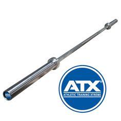 Original ATX® - Athletic Training Xtreme - Power Bar - Chrom. ATX® bietet erstklassiges, getestetes und bewährtes Equipment für den professionellen Einsatz.Somit können die Stangen bis zu einer bestimmten Spannung (Elastizitätsgrenze) verformt werden, um danach ohne bleibende Verformung elastisch in den Ausgangszustand zurückzukehren. #atxpower #strongman http://www.megafitness-shop.info/Kraftsport/Hanteln-Gewichte/Hantelstangen/50-mm/ATX-Power-Bar-700kg-Federstahl-Chrom--3436.html