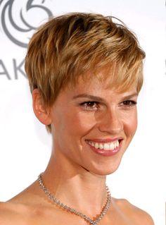 Short Hair Styles For Women Over 50 | Celebrity Pixies – Short Hairstyles for Women