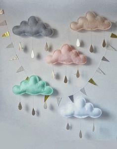 Nuvens...