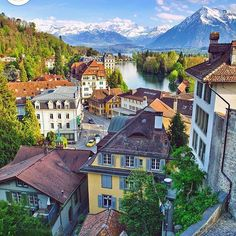 In Thun, Switzerland.
