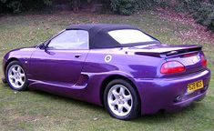 The MGF itself was bad enough. If it was possible to make it worse then this body kit succeeds Mg Cars, Bmw, Vehicles, Stripes, Ideas, Car, Thoughts, Vehicle, Tools