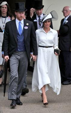 The newlyweds, who are believed to have recently jetted back from their honeymoon appeared...