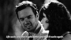 When someone younger asks you for advice: | Community Post: 23 Moments When Nick Miller Is Ridiculously Relatable
