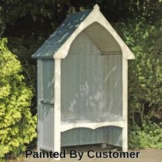 Buy Finewood Balsam Arbour from our Arches, Arbours & Pergolas range - Tesco