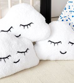 How To Make A Head In The Clouds Knit Pillow