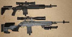 M14 EBR & M14 W/ JAE STOCK