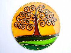 Mini mandala Árvore da Vida