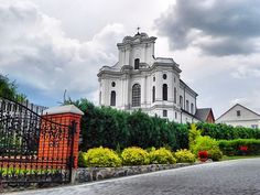Virgins Benedict's Catholic Church in Drohiczyn, Poland