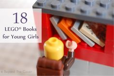 LEGO Ideas & Activities : Image : Description 18 LEGO books for young girls to enjoy Best Children Books, Childrens Books, Craft Activities For Kids, Book Activities, Lego Books, Kid Books, Used Legos, Lego Club, Library Inspiration