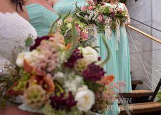 Boho Chic Wedding Bridal Bouquet. Rustic bouquet by KP Event Design in Kansas City