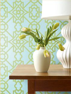 Jaima Brown: Charleston Home Wallpaper Orchids, Aqua, Home Wallpaper, Wallpaper Ideas,