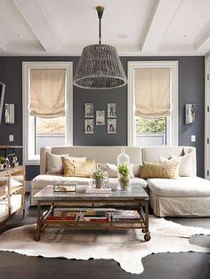 Gray & neutrals living room
