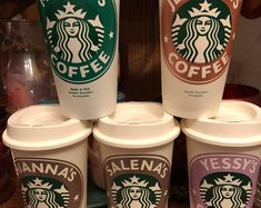 Personalized Starbucks Cup BPA FREE reusable tumbler / coffee / wedding / gift / birthday / party / travel / bridesmaid / your own text Starbucks Tumbler Cup, Custom Starbucks Cup, Starbucks Coffee, Cute Birthday Gift, Birthday Cup, Birthday Ideas, Starbucks Birthday, Starbucks Christmas, Christmas Gifts