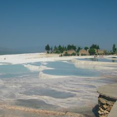 Pamukkale, Turkey. Check out our latest post about south-west Turkey at http://openupnow.net/2014/05/25/southwest-turkey/