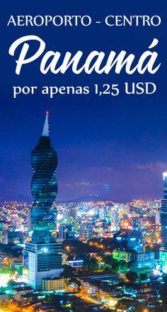Como ir do aeroporto Panamá ao centro de ônibus por 1,25 USD