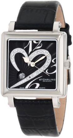 Stuhrling Original Women's 253XL.11151 Lifestyle Collection Courtly Passion Diamond Swiss Quartz Watch
